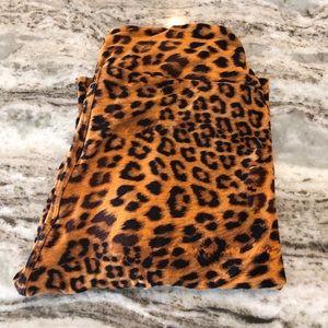 Lularoe leopard leggings